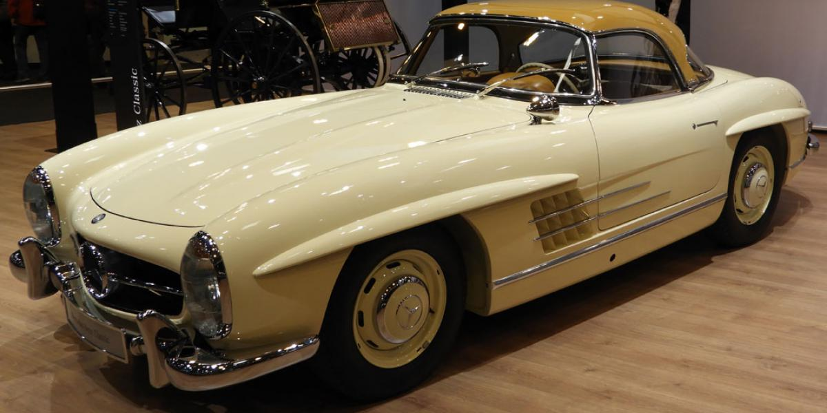 This classic car was produced from 1957 until 1963