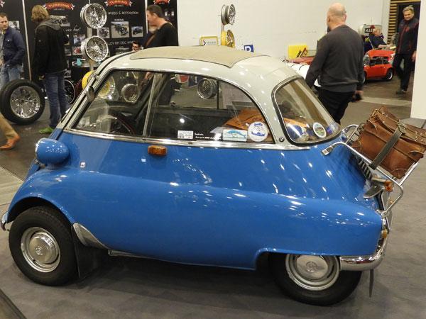 1956 - 62 BMW Isetta 250 Export- 245 cc Max speed 85 km