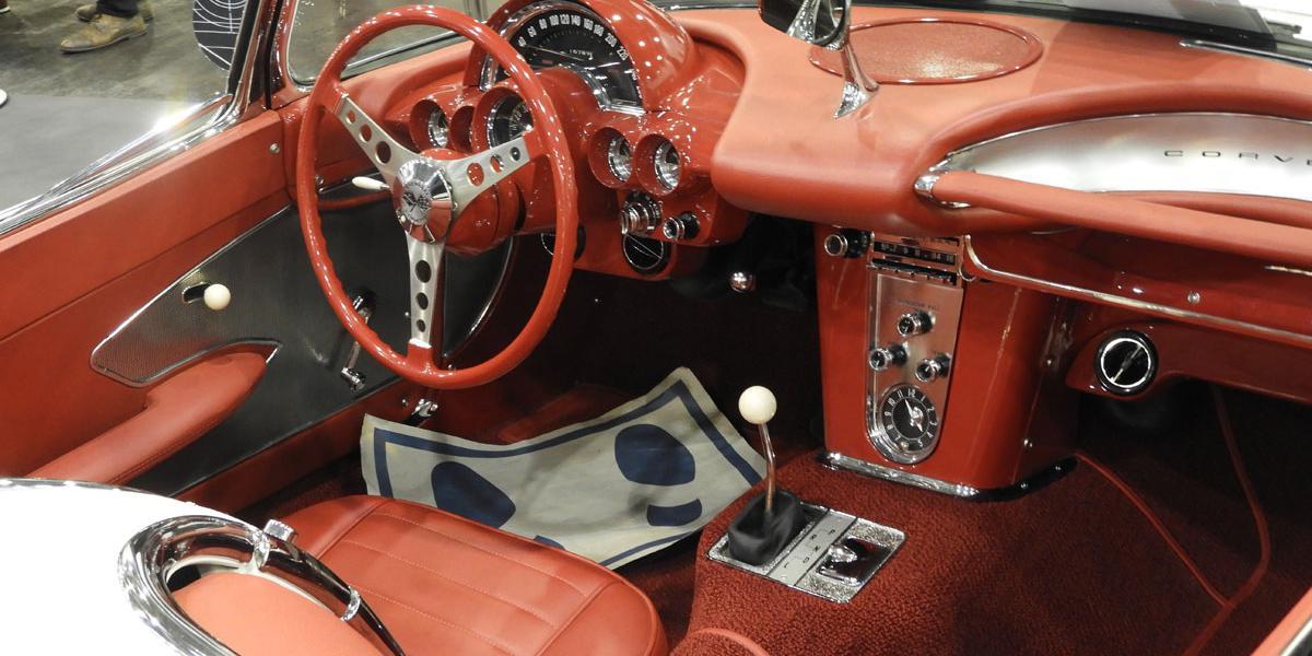 The 1958 4.6 litre V8 Chevrolet Corvette